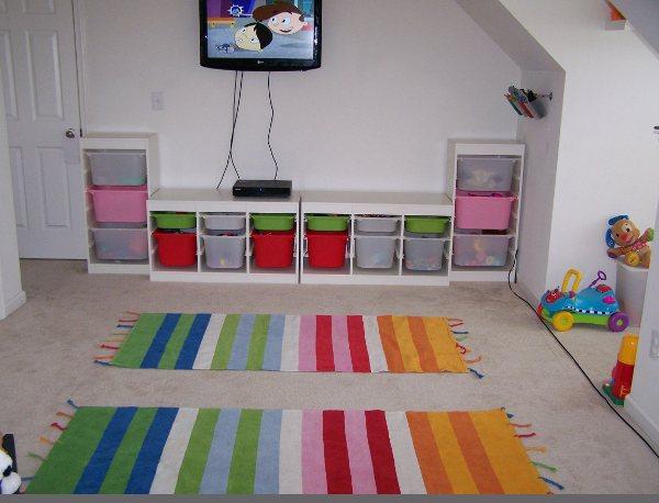 Poco espacio? 3 ideas para crear una zona de juegos en la habitación ...