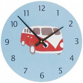 Coloridos dise os de relojes de pared para ni os espacio - Reloj de pared diseno ...