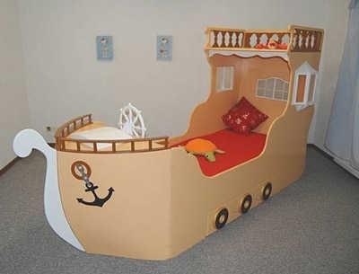 Imaginativas camas para ni os grandes espacio ni os - Camas originales para ninos ...