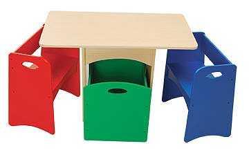 Coloridos escritorios para hacer las tareas y m s - Mesas escritorio para ninos ...