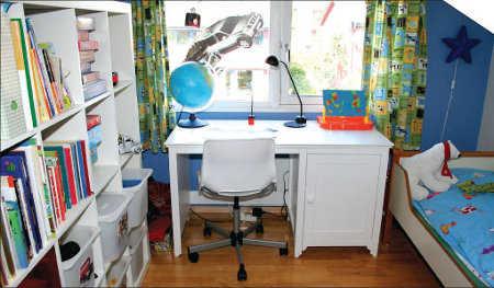 C mo decorar un cuarto de estudios para ni os espacio ni os - Como decorar un estudio ...