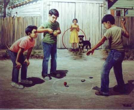 Juegos tradicionales lo que jugaban los nios de antes  Espacio