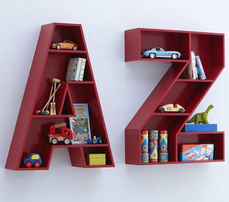 Estantes y repisas muebles ideales para la habitaci n de - Estantes para juguetes ...