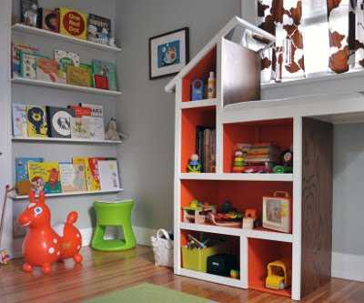 Ideas para organizar los juguetes de los ni os espacio ni os - Estantes para juguetes ...