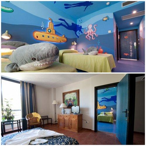 Decoraci n para cuartos de ni os mixto espacio ni os for Habitaciones sobre el mar