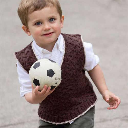 Chaleco de lana para niño - Imagui