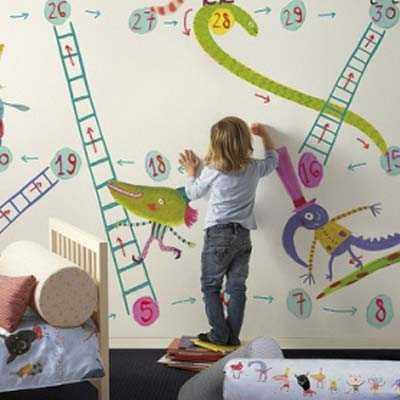 Cómo proteger las paredes de los niños: ¡pinturas, pizarras y más ...