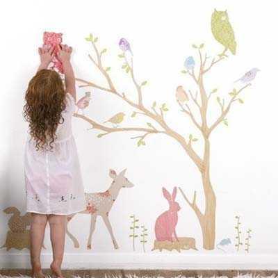 C mo proteger las paredes de los ni os pinturas - Paredes para ninos ...