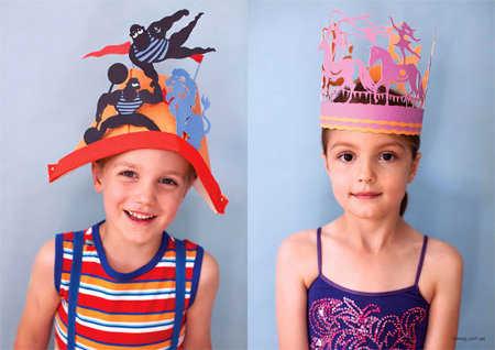 cecfcc2819115 Gorros para fiesta infantil  ¡los modelos más creativos!