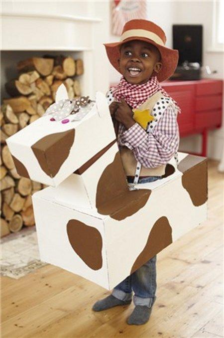 Homemade Cowboy Halloween Costume