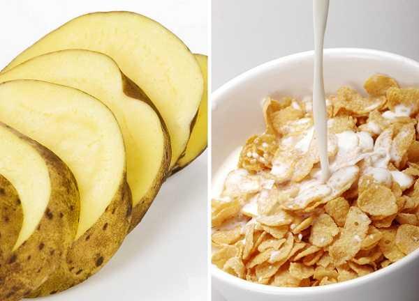 Un sándwich suple la ración necesaria de cereales, así como dos papas cortadas en rodajas o papitas cocktail