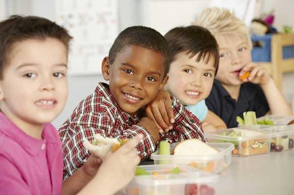 Al colegio con loncheras nutritivas