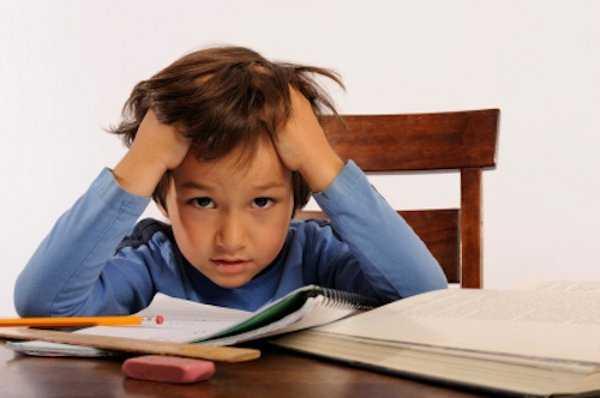 La hora de la tarea puede causar mucho estrés